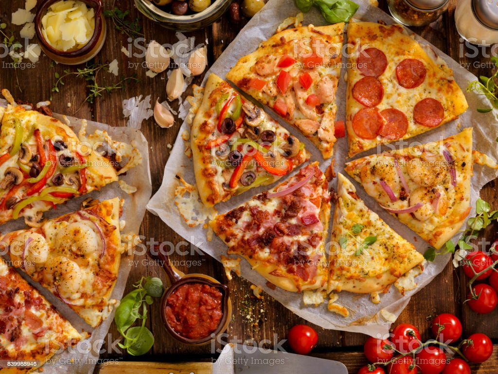What's on your Pizza? stock photo