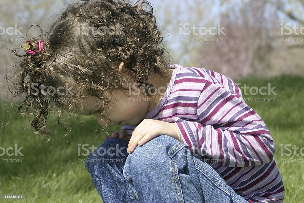 What's she looking at? royalty-free stock photo