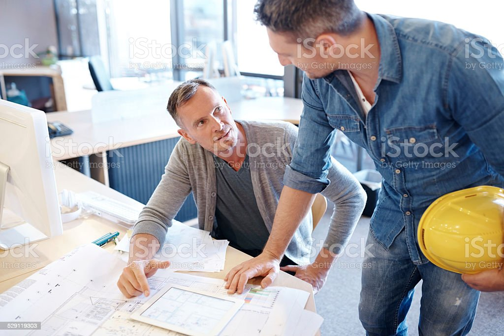 What's the plan of action? stock photo
