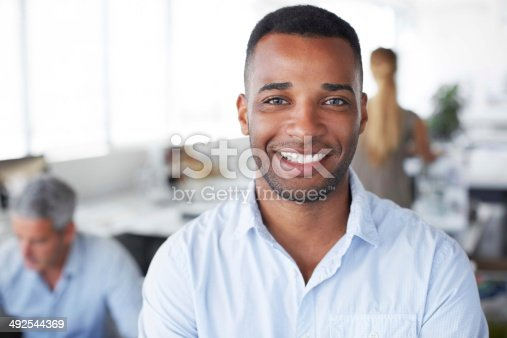 istock What's the secret to success? Ask this guy! 492544369
