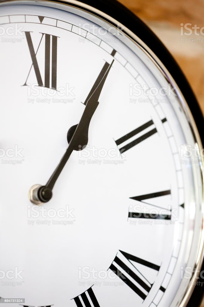 What's the time? stock photo