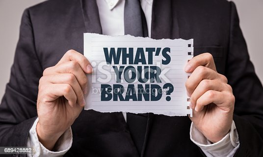 istock Whats Your Brand? 689428882