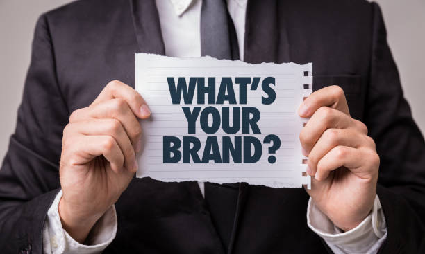 Whats Your Brand? stock photo