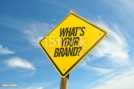 istock Whats Your Brand? 846416006