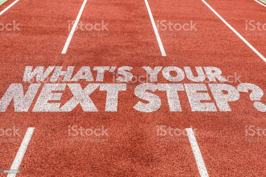 Quelle est votre prochaine étape? - Photo