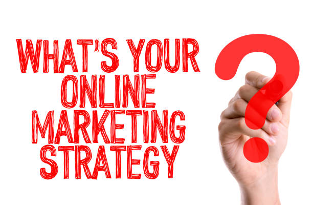 Whats Your Online Marketing Strategy? stock photo