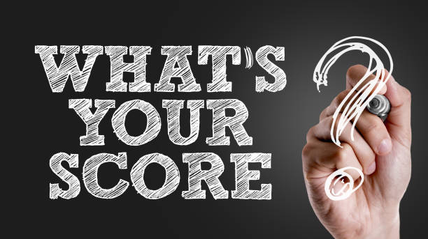 Whats Your Score? stock photo