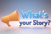 istock Whats your story? 1284661218