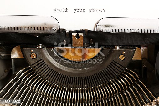 istock What's your story? 465841800