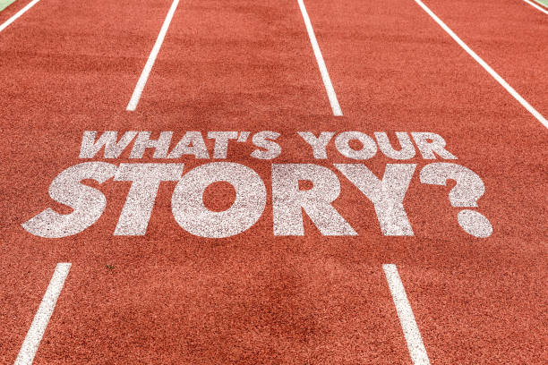 quelle est votre histoire? - étage photos et images de collection