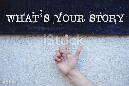 istock What's Your Story 872033104