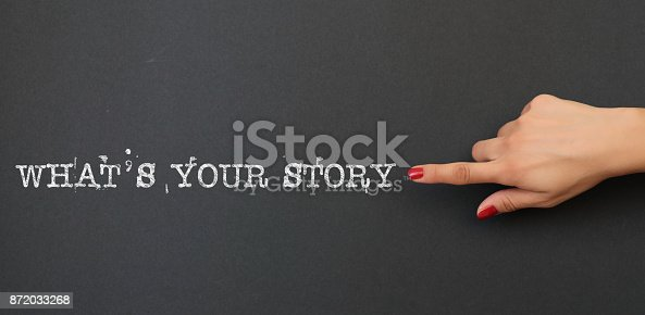 istock What's Your Story 872033268
