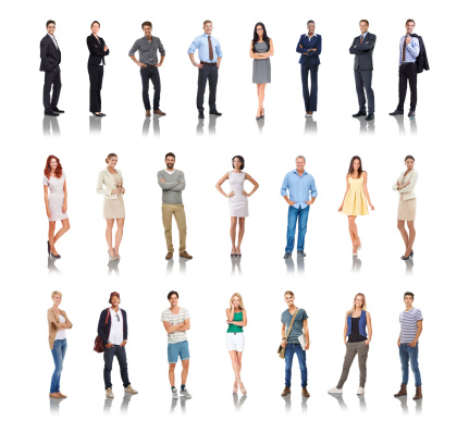 Composite image of a variety of people isolated on whitehttp://195.154.178.81/DATA/i_collage/pi/shoots/784013.jpg