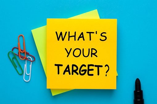 Whats Your Target Stock Photo - Download Image Now