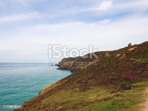 Wheal Coates Tin mine near St Agnes Head Cornwall, UK