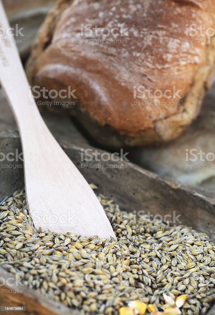 Wheat and Bread royalty-free stock photo