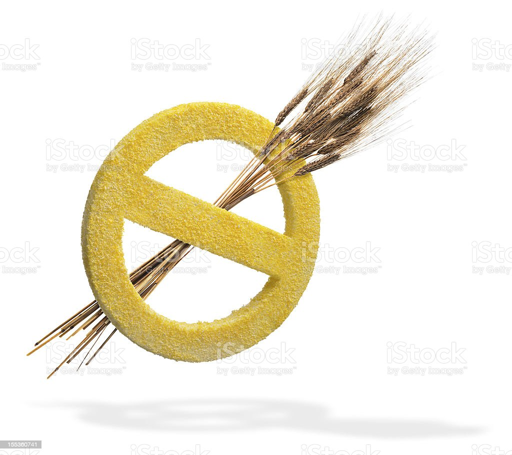 Wheat and Gluten Free royalty-free stock photo