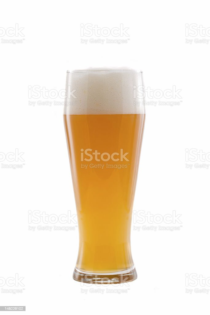 wheat beer royalty-free stock photo