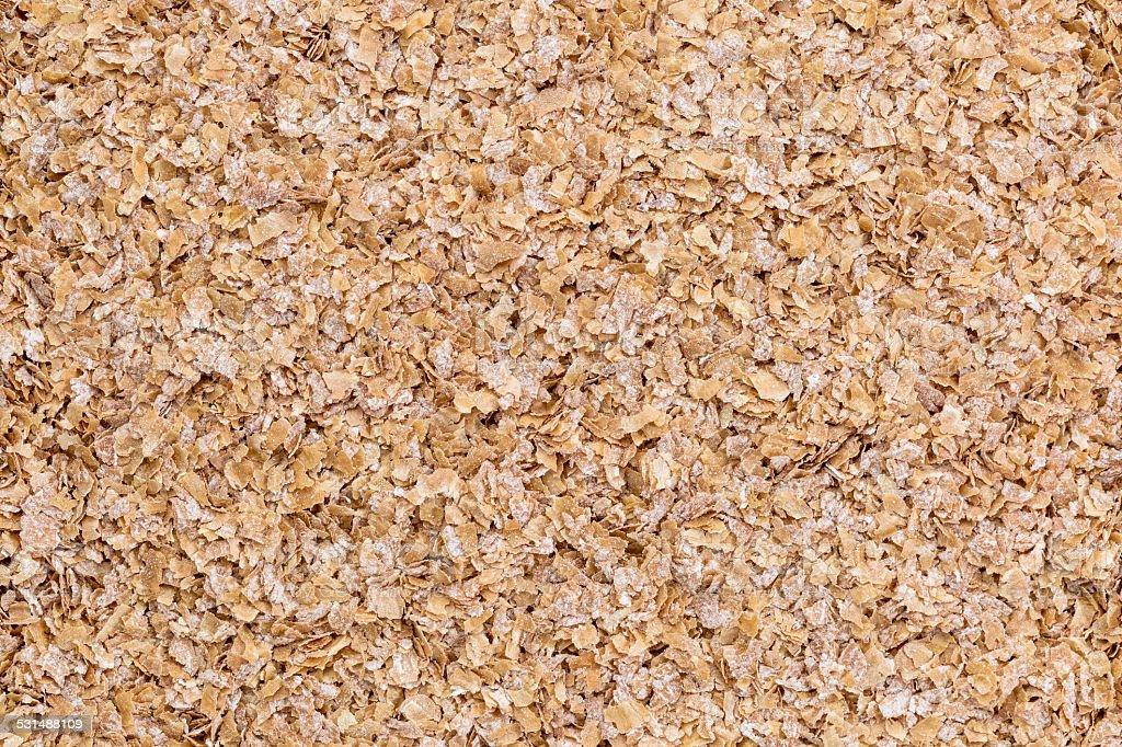 wheat bran background stock photo