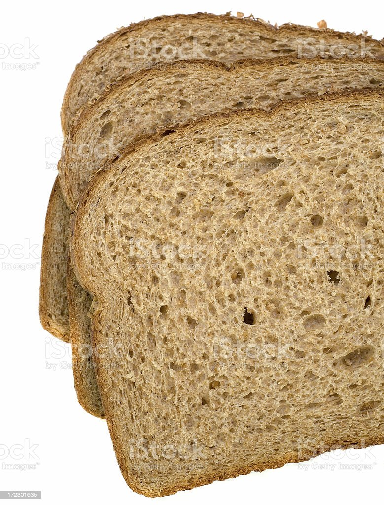 Wheat Bread Slices royalty-free stock photo