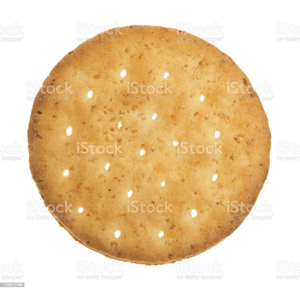 Wheat  cracker. royalty-free stock photo