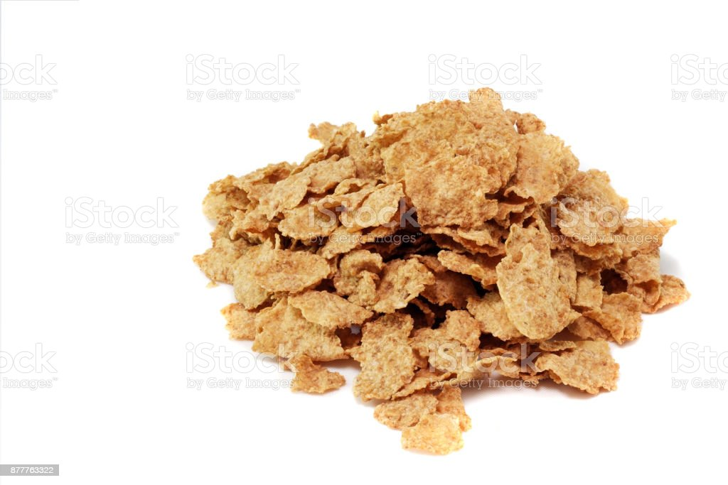 Wheat Flakes stock photo
