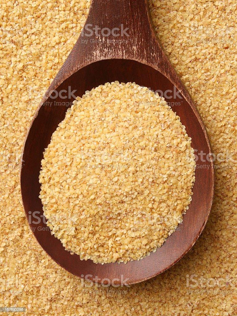 Wheat germ royalty-free stock photo