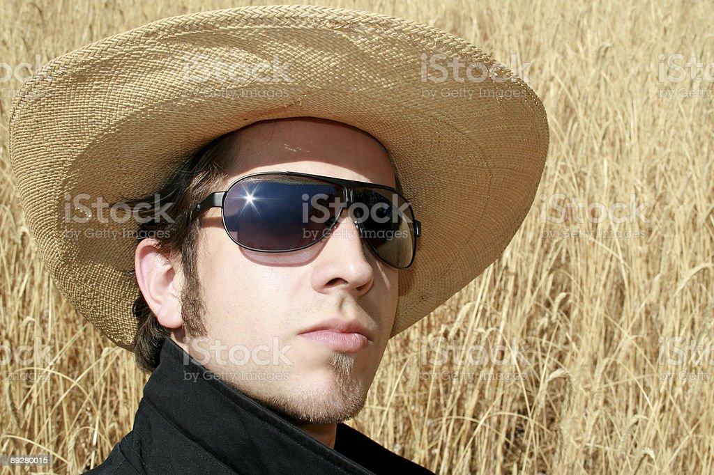 Wheat Man royalty-free stock photo