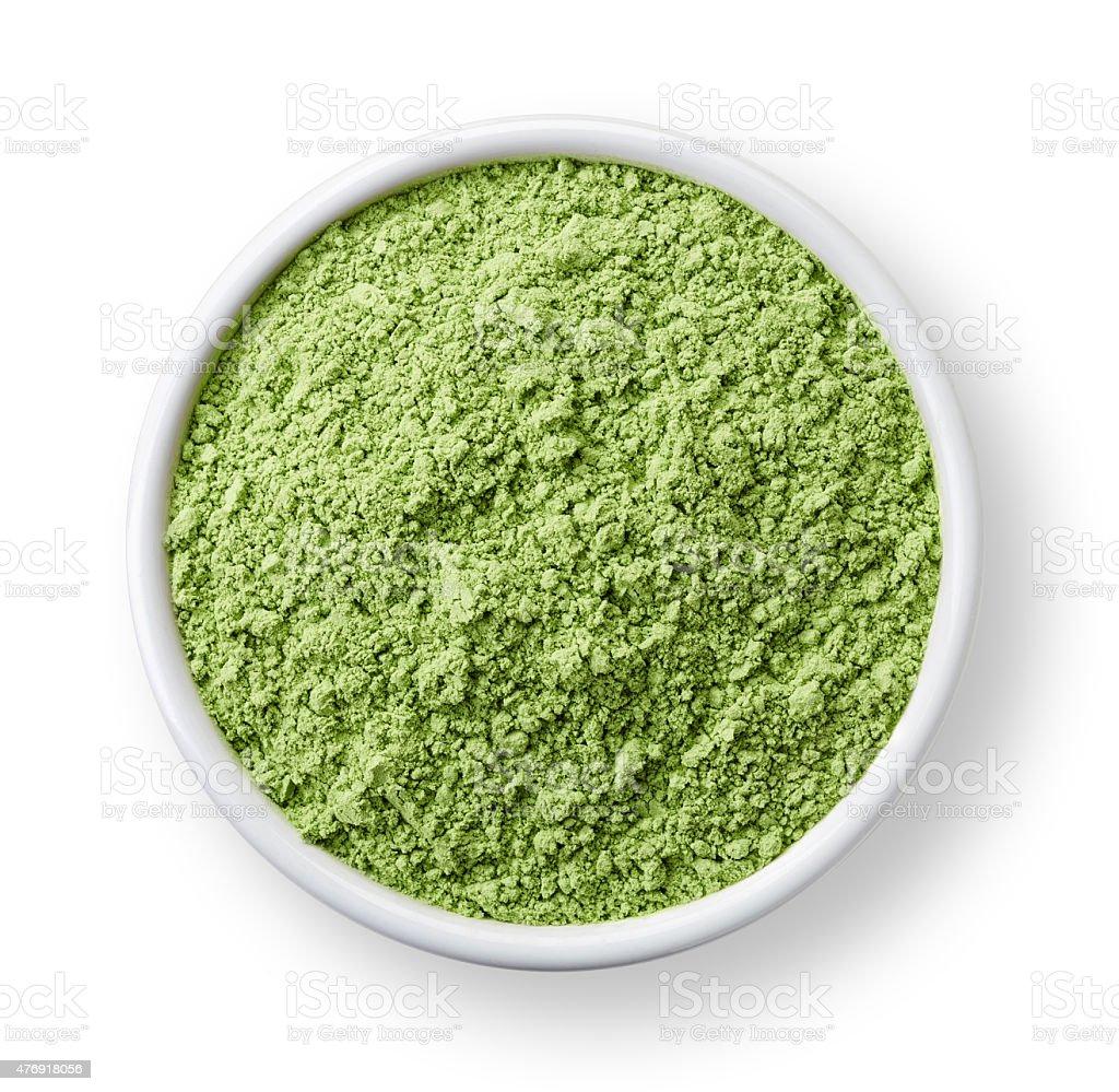 wheat sprouts powder stock photo