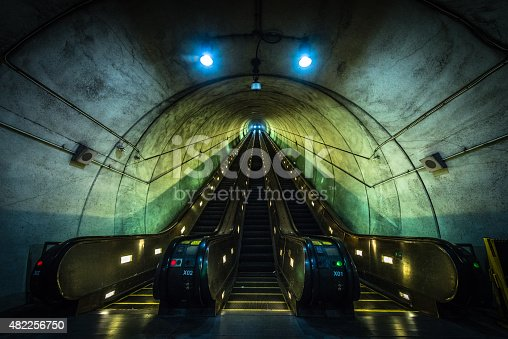 The escalator in the Wheaton Metro station in Washington, D.C. is the longest escalator in the Western Hemisphere.