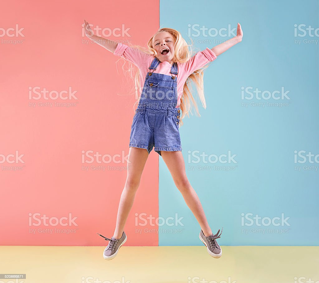 Wheee! stock photo