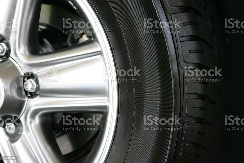 Wheel 02 stock photo