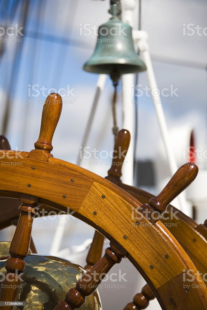 wheel and bell stock photo