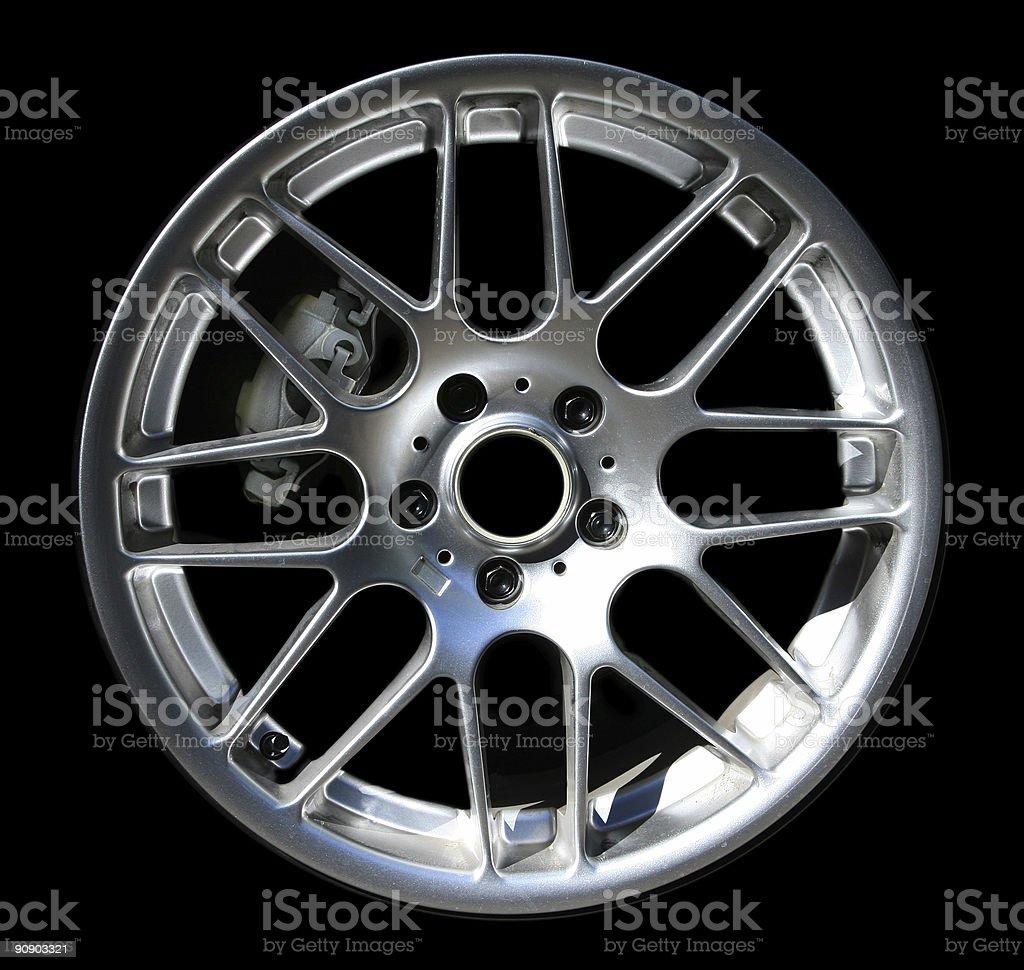 Wheel and Brake royalty-free stock photo