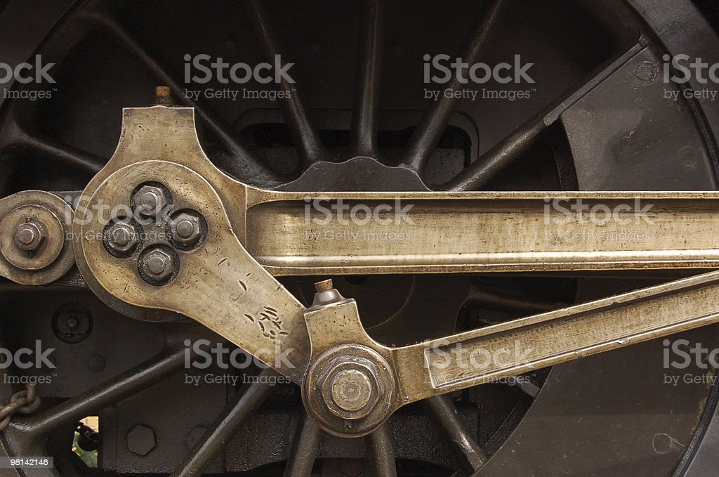 Wheel bearing royalty-free stock photo