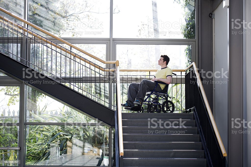 wheel chair access royalty-free stock photo