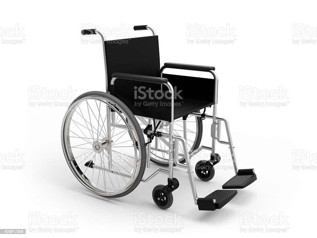 Silla de ruedas - foto de stock
