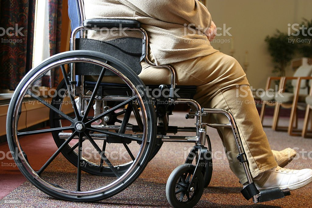 Wheel chair royalty-free stock photo