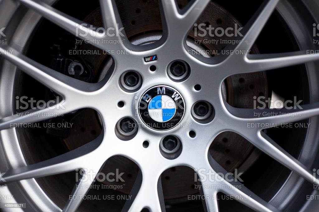 BMW M rueda detalle - foto de stock