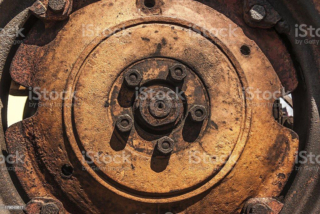 Wheel Grunge royalty-free stock photo
