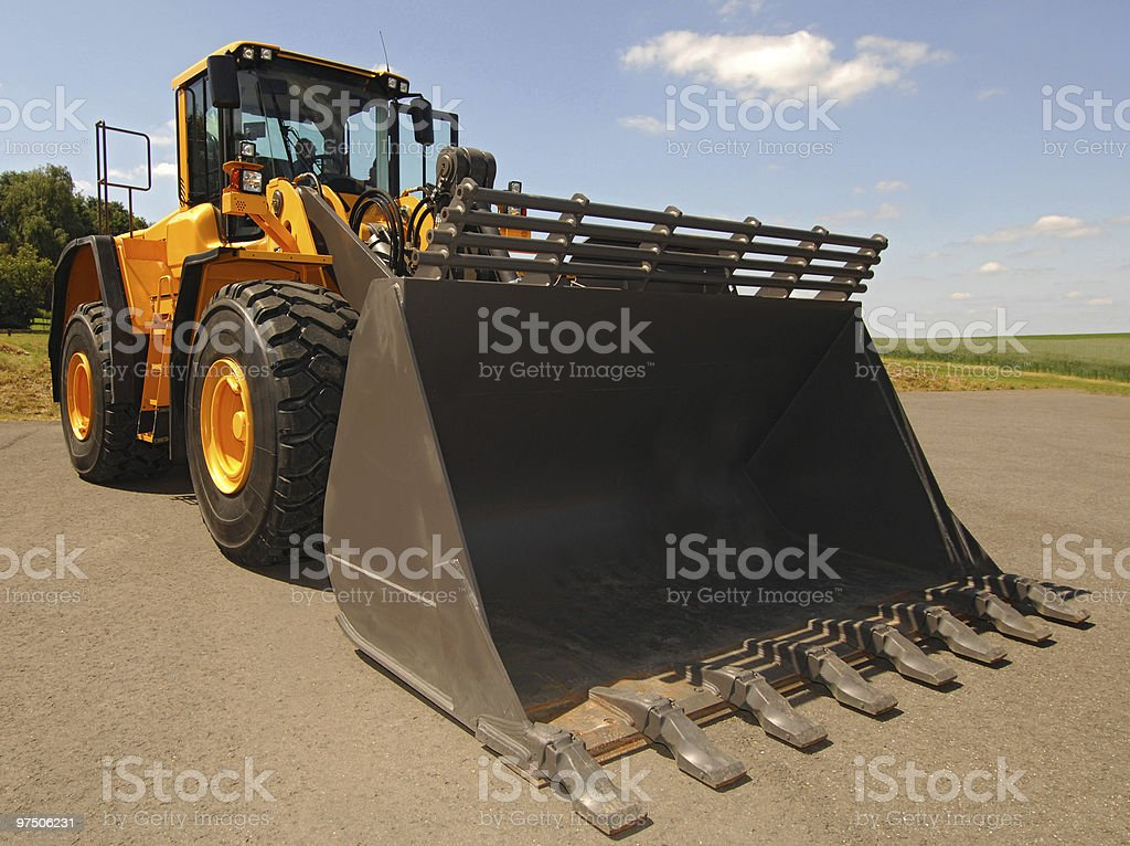 Wheel Loaders royalty-free stock photo