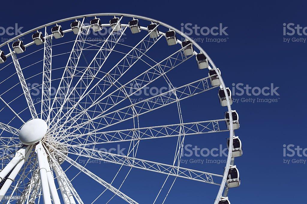 Wheel of Brisbane stock photo