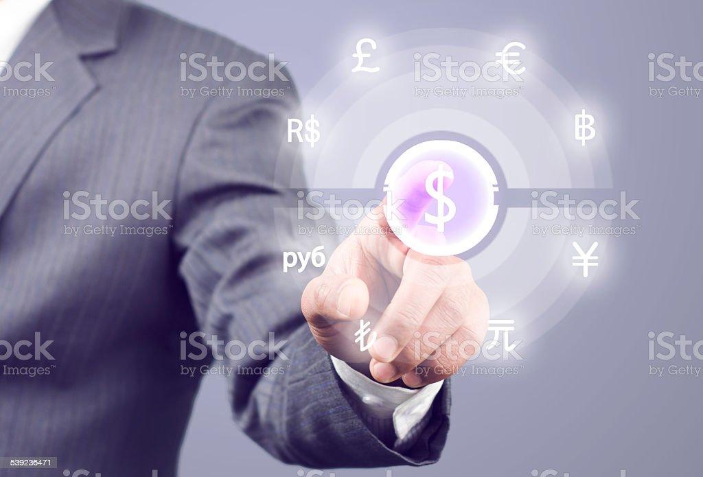 Rueda de moneda foto de stock libre de derechos