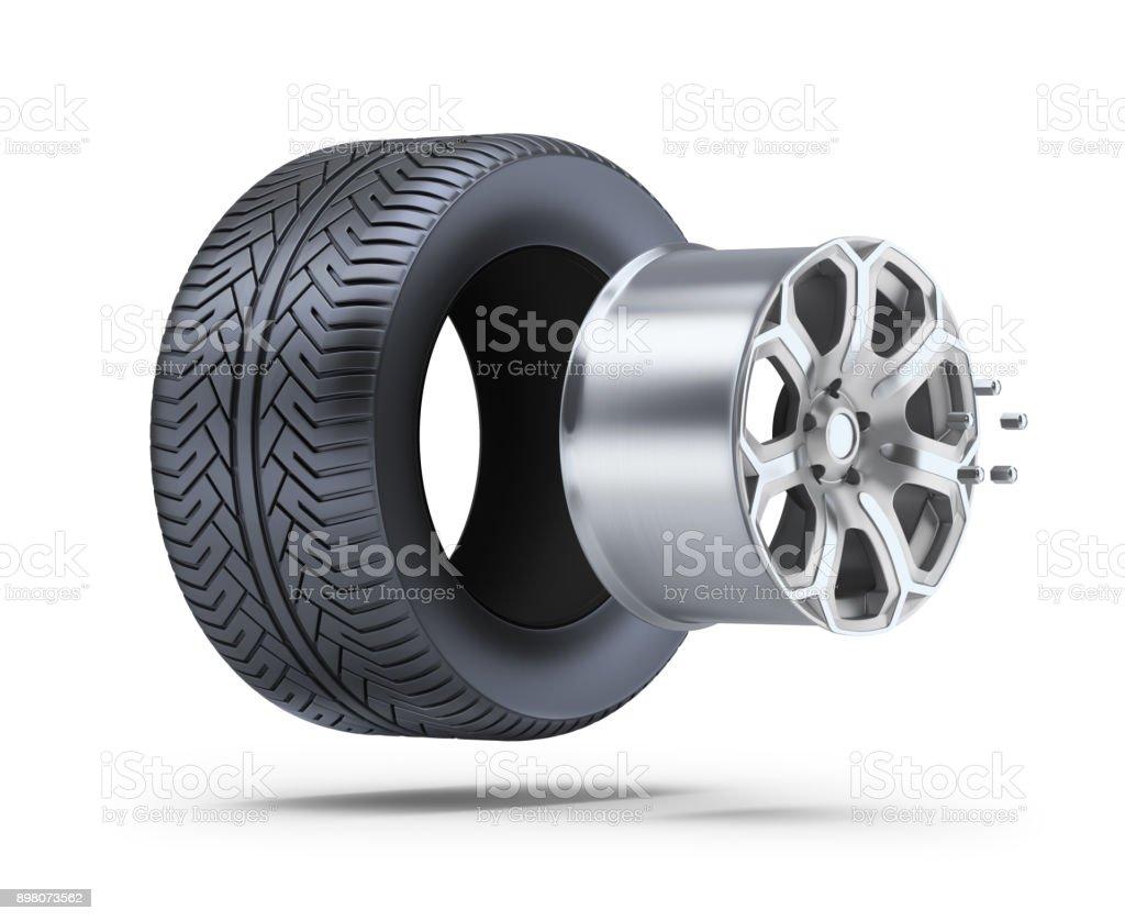 wheel parts стоковое фото