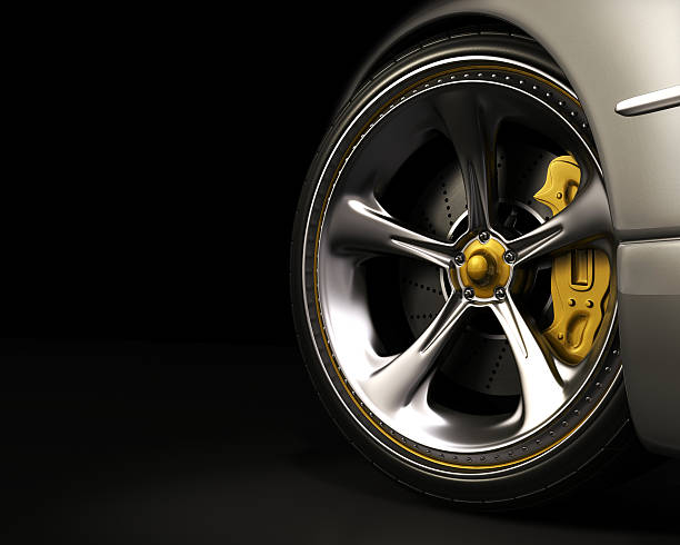 Wheel (Exclusive Design)  luxury car stock pictures, royalty-free photos & images