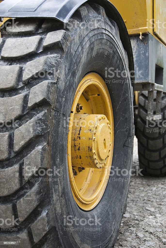 Wheel - Royalty-free Bulldozer Stock Photo