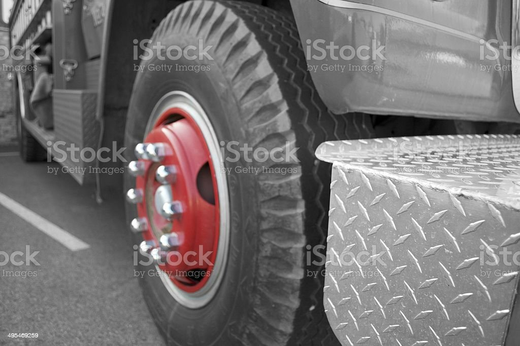 Wheel Red stock photo