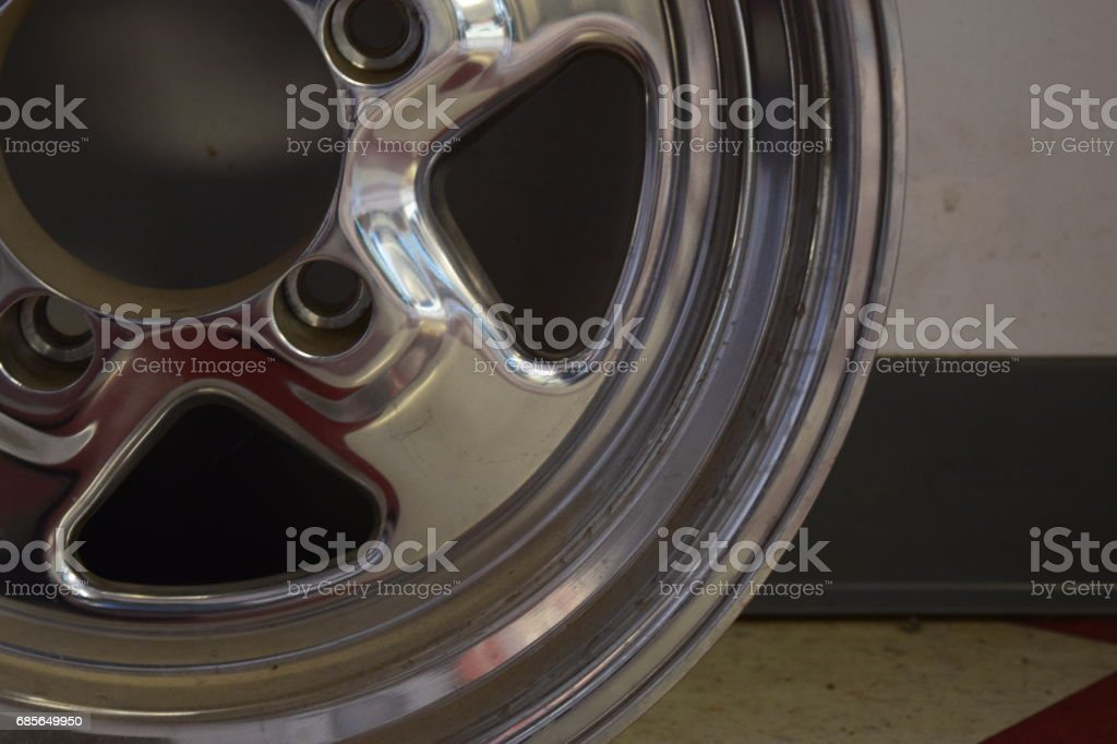 Wheel rim for a car 免版稅 stock photo