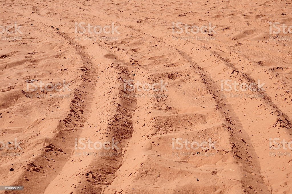 wheel track royalty-free stock photo