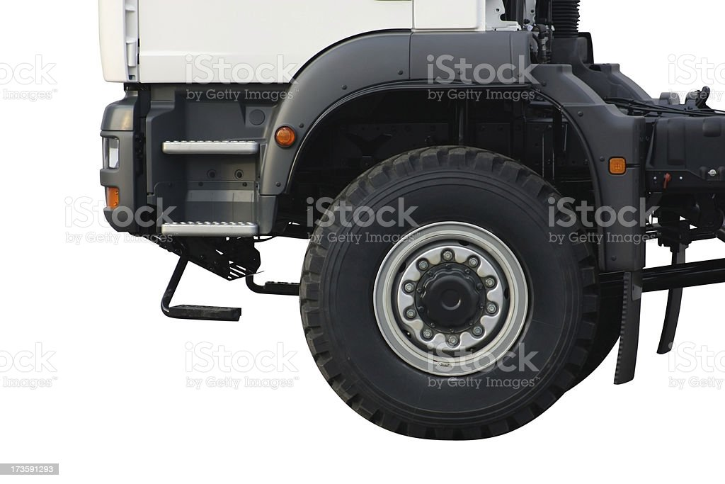 Wheel Truck royalty-free stock photo